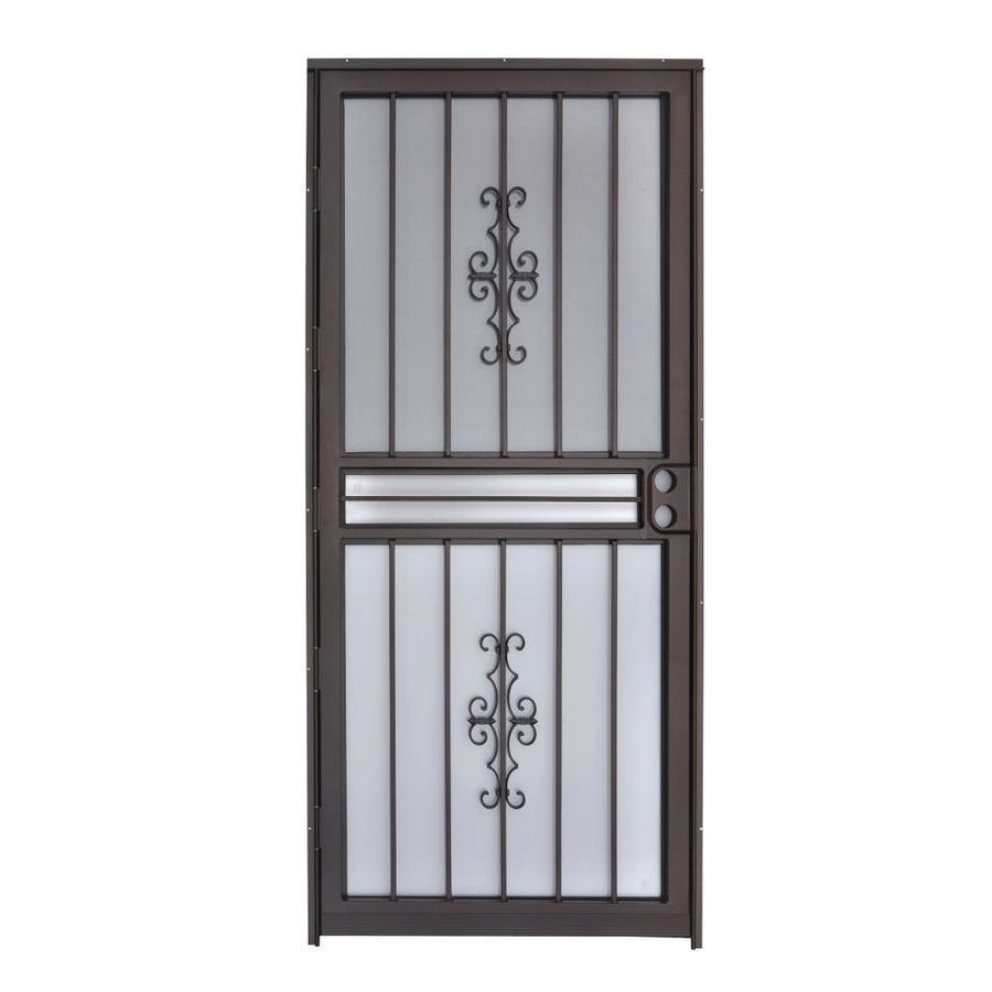 Gatehouse Copper Mid-View Steel Standard Storm Door (Common: 36-in x 80-in; Actual: 35-in x 78.5-in)