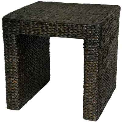 Cool Red Lantern Oriental Furniture Black Wicker End Table At Short Links Chair Design For Home Short Linksinfo