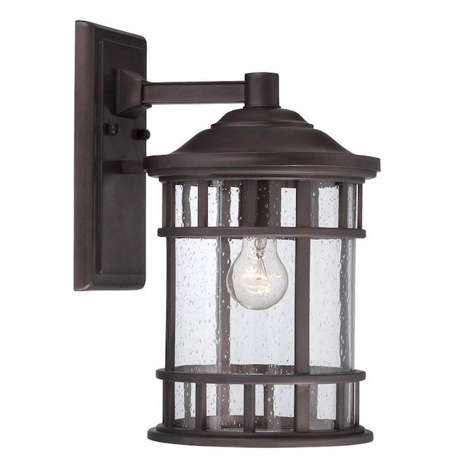 acclaim lighting vista ii 12 13 in h architectural bronze medium base e 26 outdoor wall light
