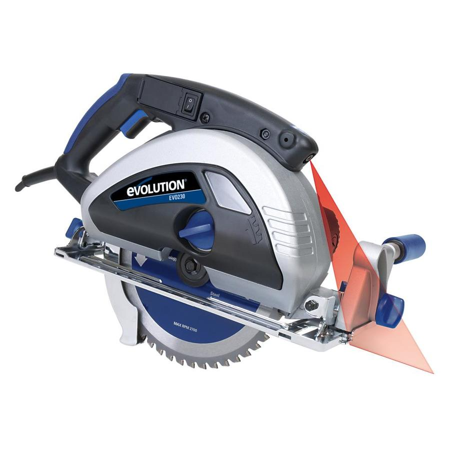 Evolution 15-Amps 9-in Corded Circular Saw
