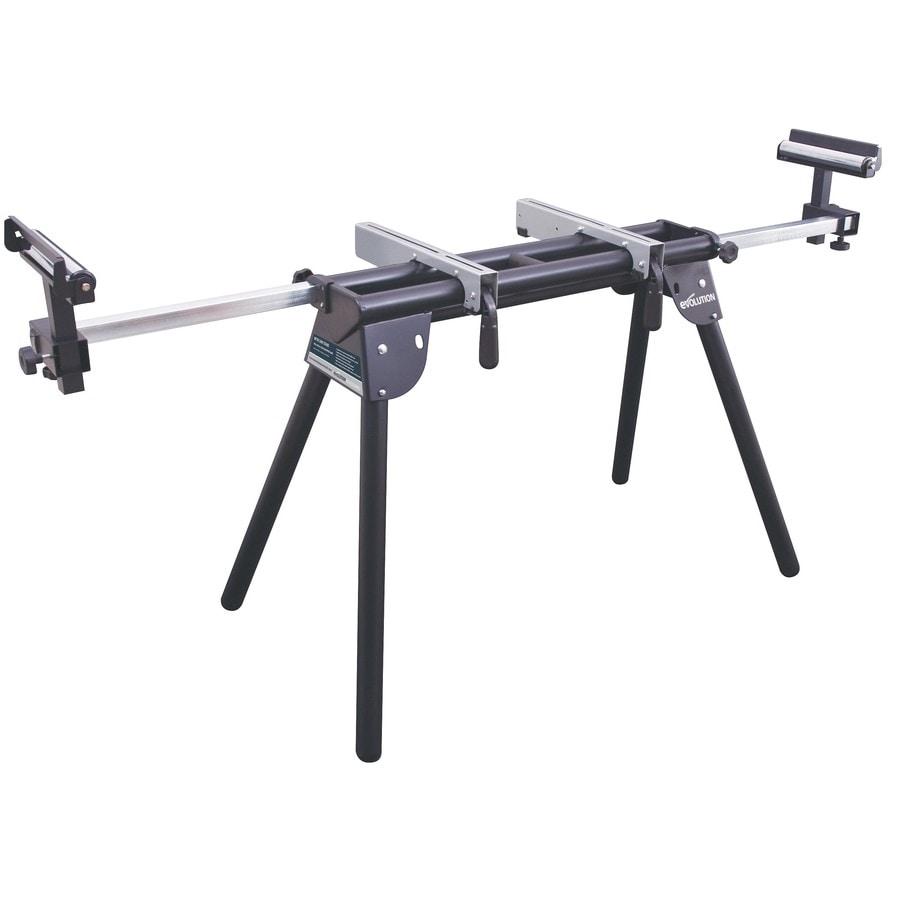 Shop Evolution Steel Adjustable Miter Saw Stand at Lowes.com
