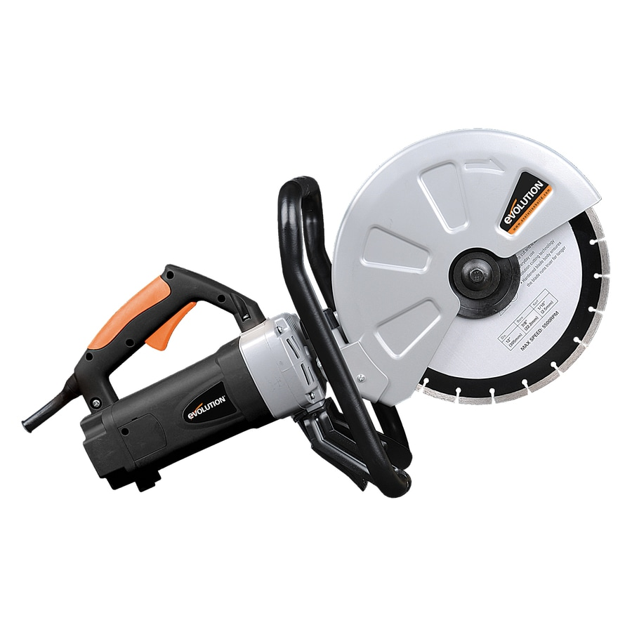 Evolution 12 In Corded Portable Concrete Saw