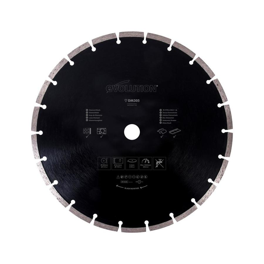 Evolution 12-in Wet or Dry Segmented Diamond Circular Saw Blade