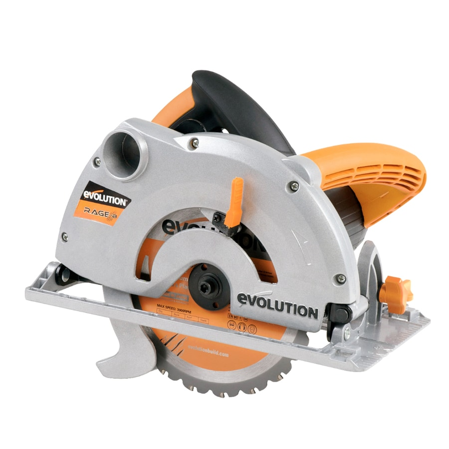 Evolution RAGE 10-Amp 7-1/4-in Corded Circular Saw