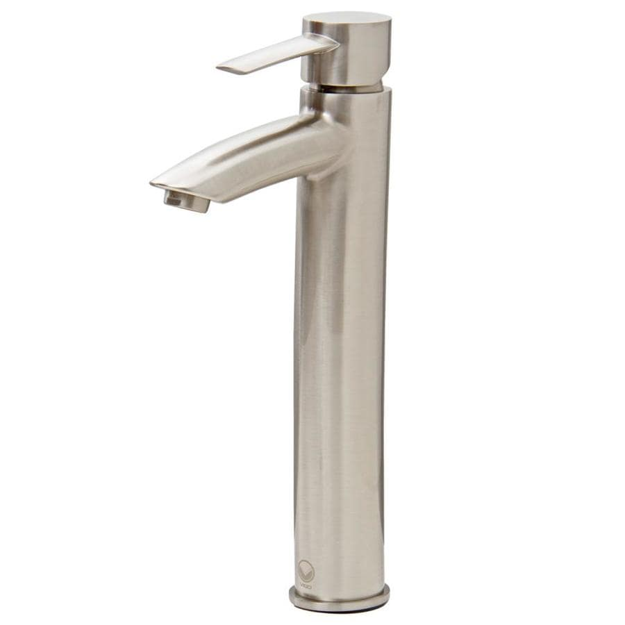 vigo bathroom faucets. VIGO Shadow Brushed Nickel 1-Handle Vessel WaterSense Bathroom Faucet Vigo Faucets