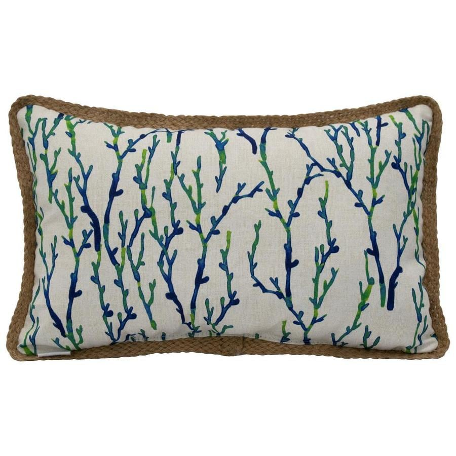 Allen Roth Geometric Kona Coral Rectangular Lumbar Pillow In The Outdoor Decorative Pillows Department At Lowes Com Our stores remain open for curbside pickup. lowe s