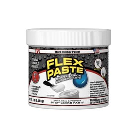 Flex Paste White Adhesive Putty (Actual Net Contents: 16-oz)