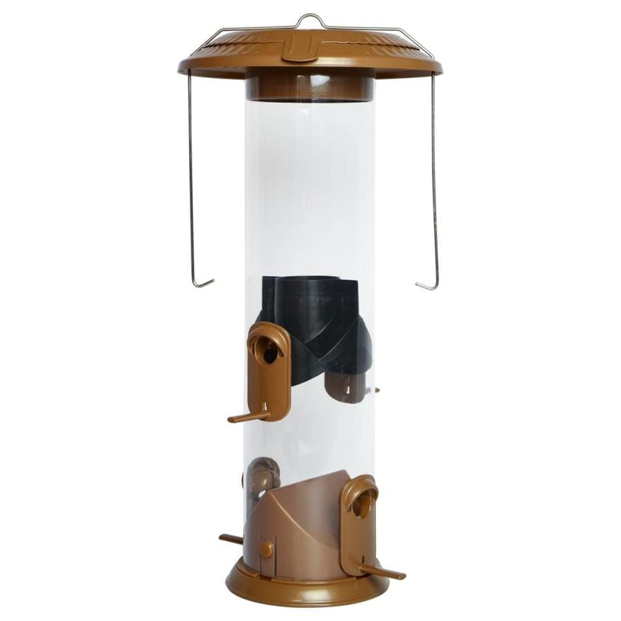 Wild Wings Wide Deluxe Funnel Flip Top 2-in-1 Tube Feeder at Lowes com