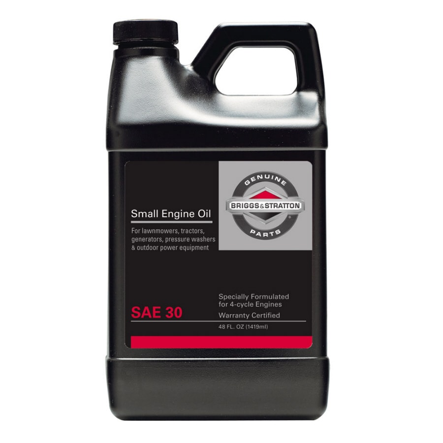 Briggs Stratton 48 Oz 4 Cycle 30w Conventional Engine Oil At Lowescom