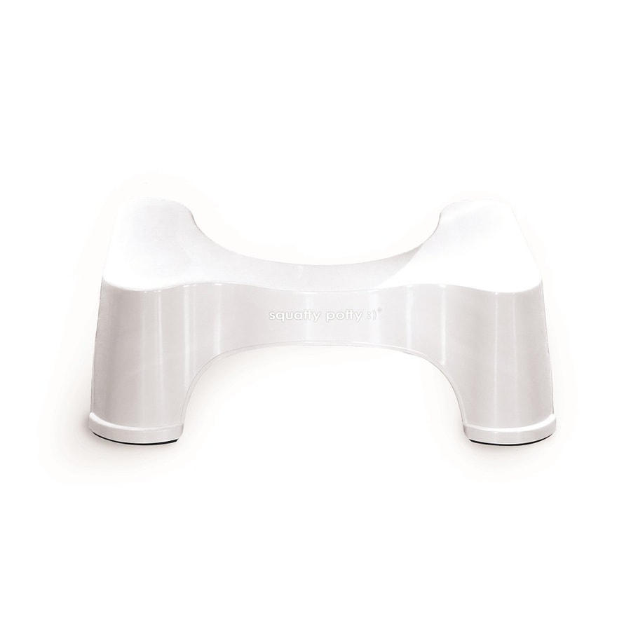 Squatty Potty Ecco 9.5-in White Toilet Stool