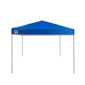 Z-Shade 8-ft W x 10-ft L Rectangle White Steel Pop-Up Canopy