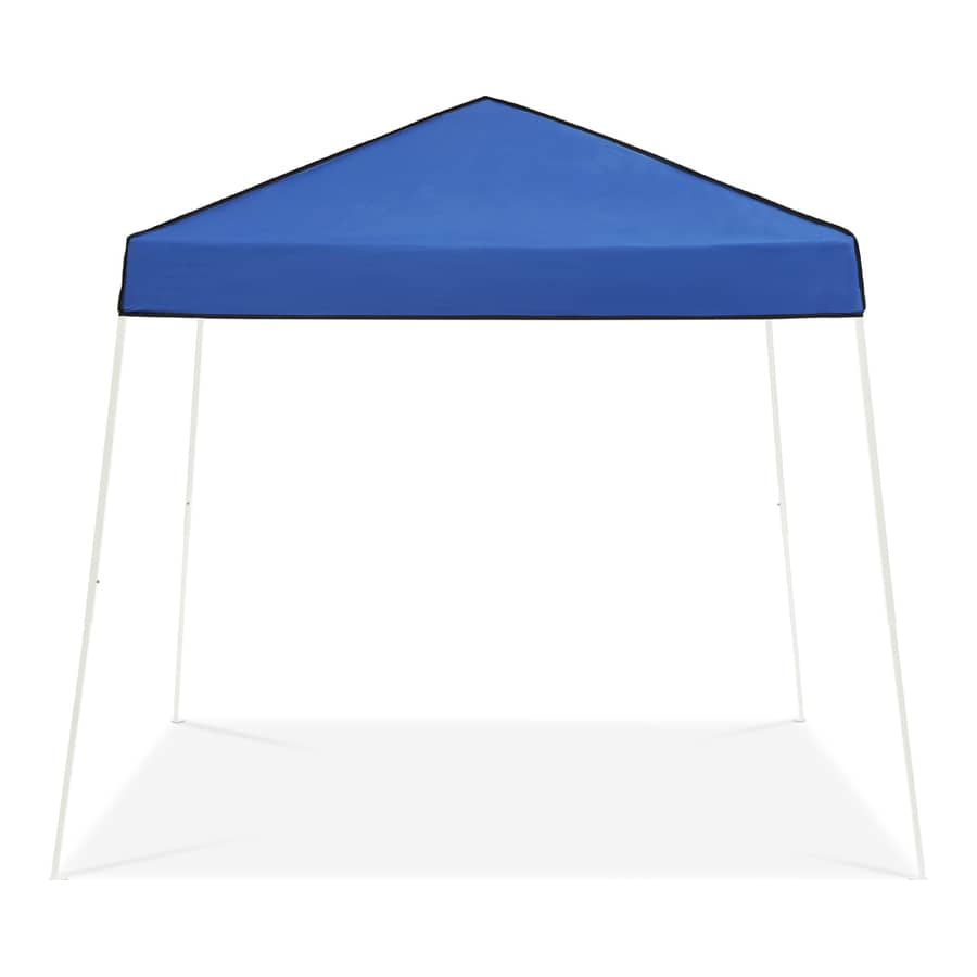 Z-Shade 10-ft W x 10-ft L Square White Steel Pop  sc 1 st  Loweu0027s & Shop Canopies u0026 Accessories at Lowes.com
