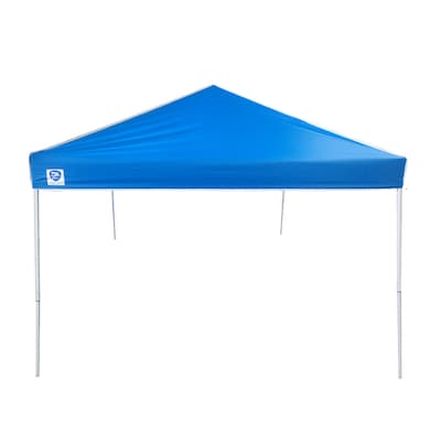 separation shoes ee091 40be0 12-ft L Square Blue Pop-Up Canopy