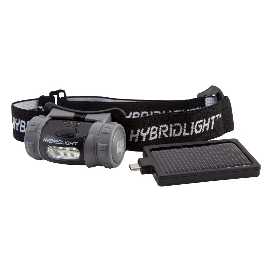 Hybrid Light 75-Lumen LED Headlamp Rechargeable Battery Flashlight (Battery Included)