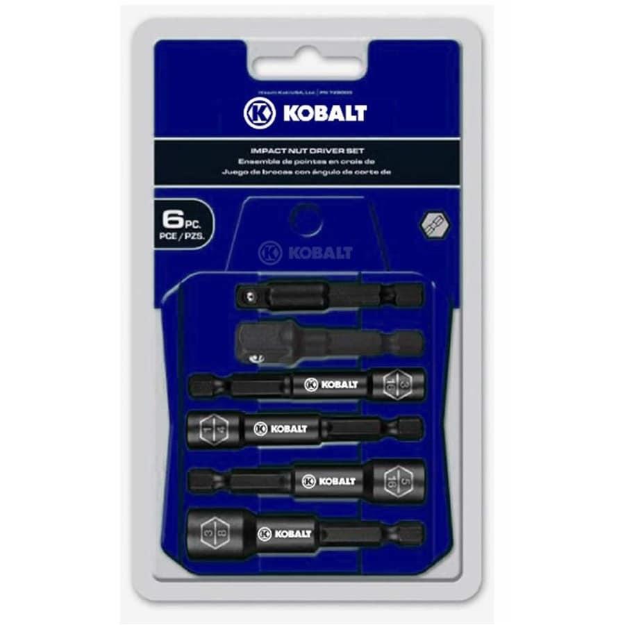 Kobalt 6-Piece Impact Driver Bit Set