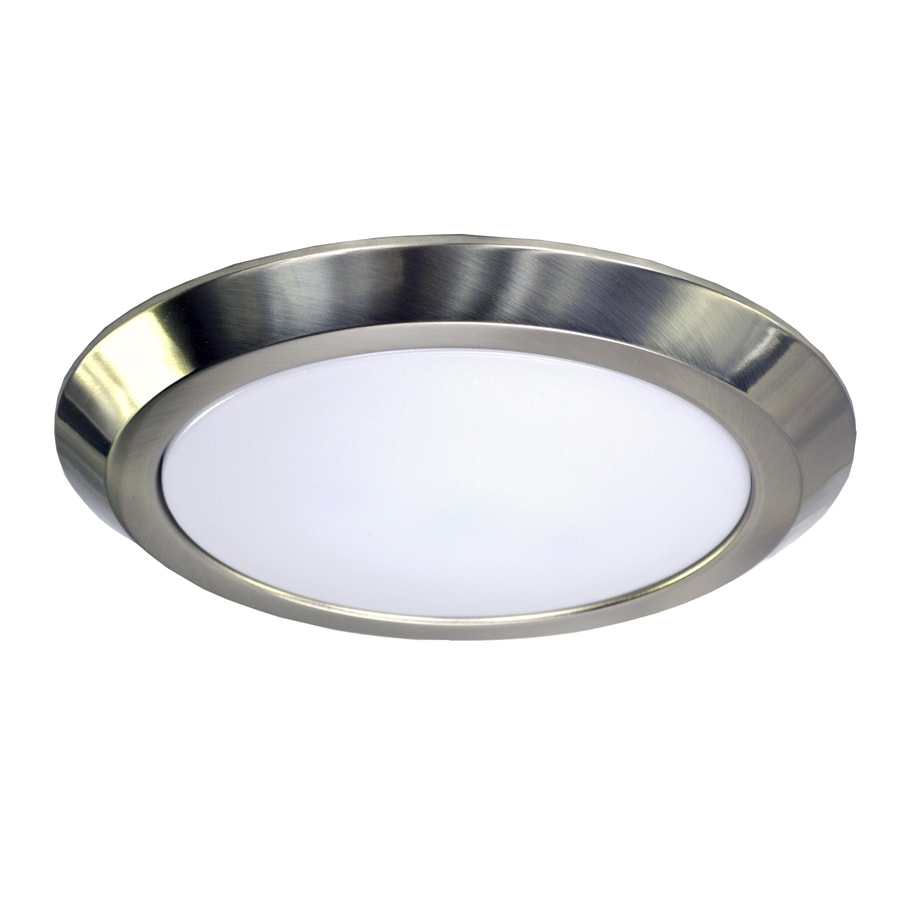 Shop Elight Builderselects 12 In W Brushed Nickel Led