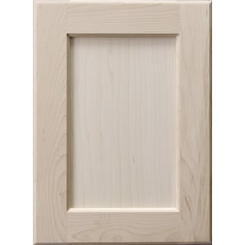 Surfaces Carlisle 11 In X 15 In Wood Unfinished Maple Flat Panel Cabinet Sample