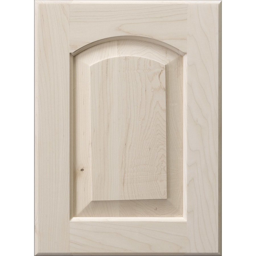 Awesome Surfaces Darby 11 In X 15 In Wood Unfinished Maple Arched/Cathedral Cabinet