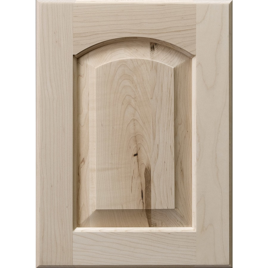 Surfaces Darby 15-in x 11-in Wood Maple Arch Cabinet Sample