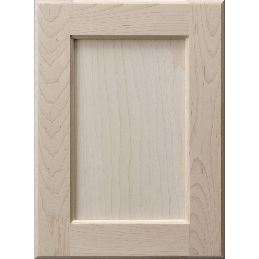 Surfaces 10-in x 22-in Hard Maple Cabinet Door Front
