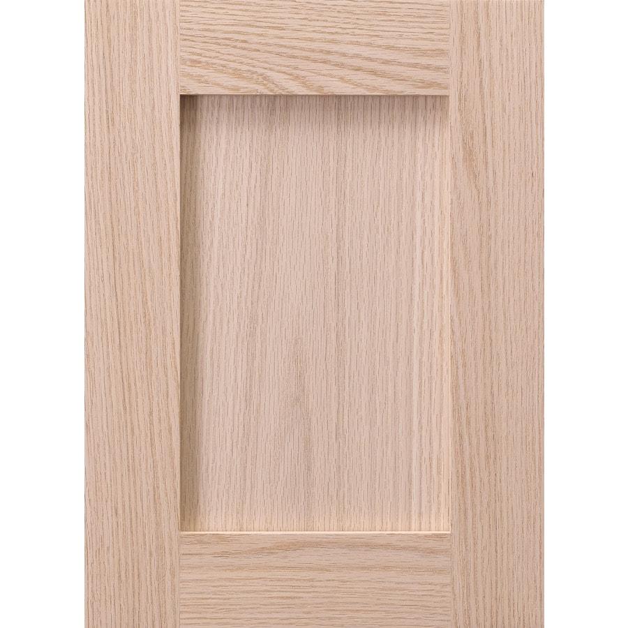 Surfaces 10-in x 22-in Wood Cabinet Door Front