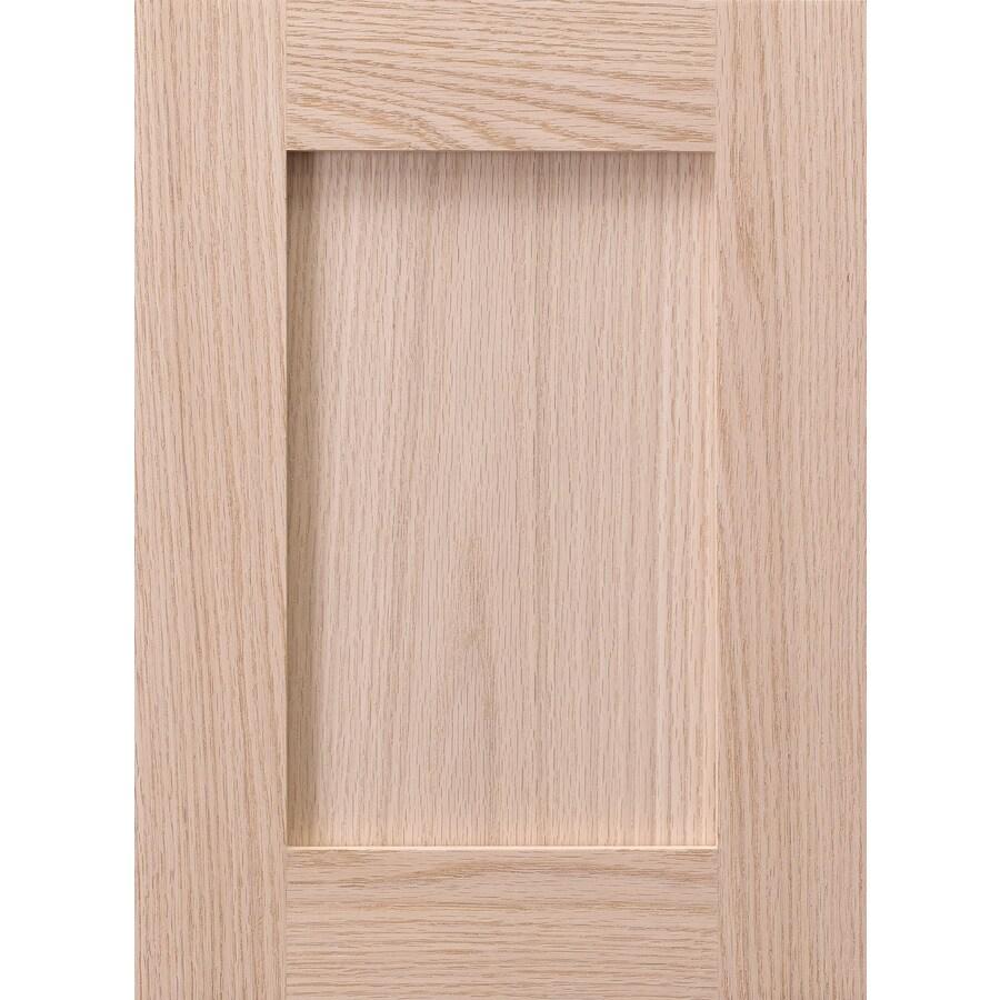 Surfaces 16-in W x 22-in H x 0.75-in D Red Oak Cabinet Door Front