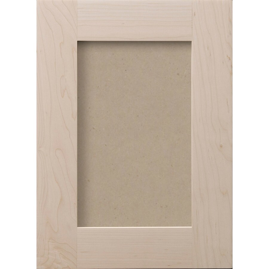 Surfaces 16-in W x 22-in H x 0.75-in D Paint Grade Hard Maple Cabinet Door Front