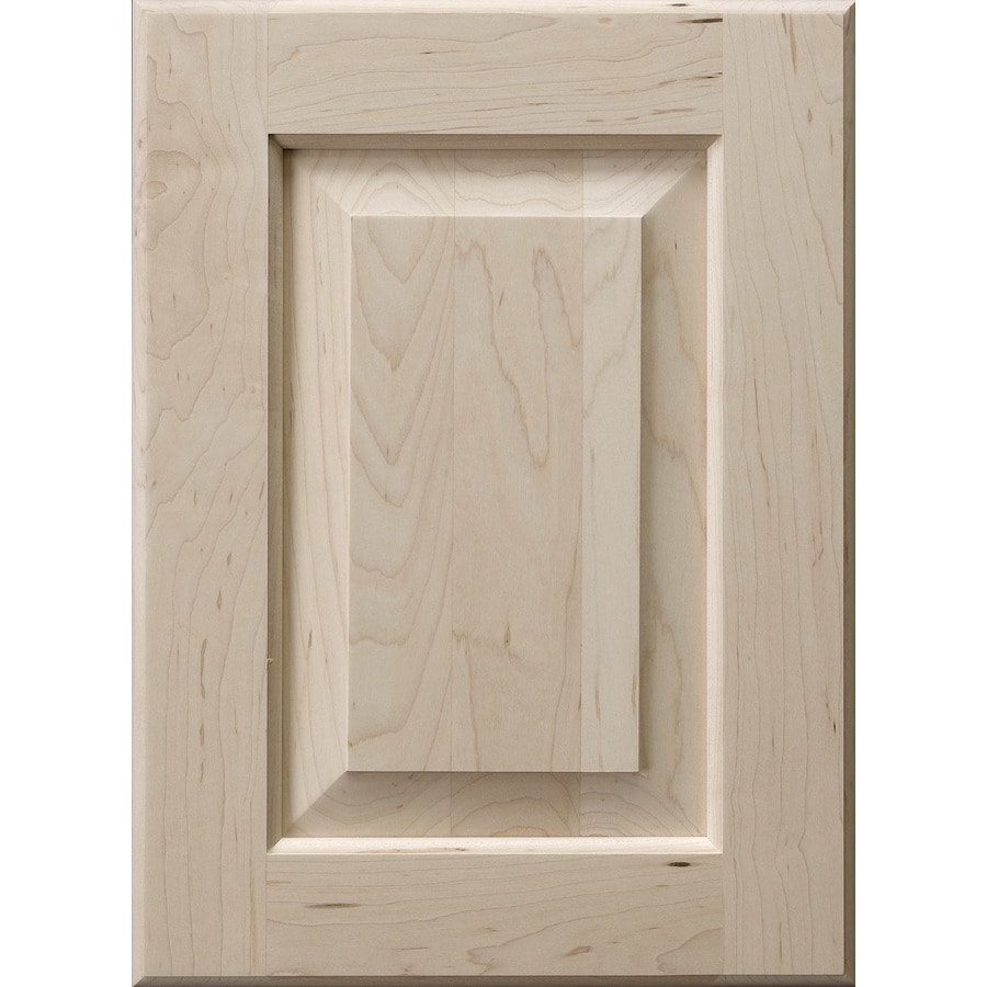 Surfaces 16-in W x 22-in H x 0.75-in D Hard Maple Cabinet Door Front