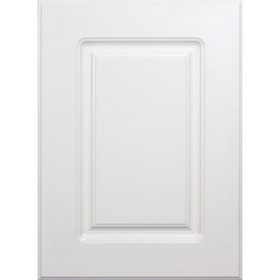 White Raised Panel Kitchen Cabinet Doors At Lowes Com