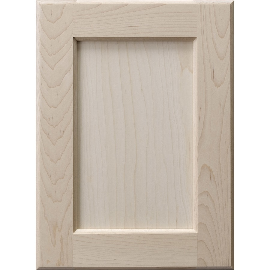Surfaces 16 In W X 28 In H X 0 75 In D Hard Maple Cabinet Door Front