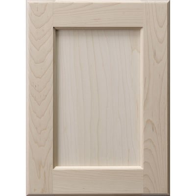 Surfaces 16 In W X 28 In H X 0 75 In D Hard Maple Wall Cabinet