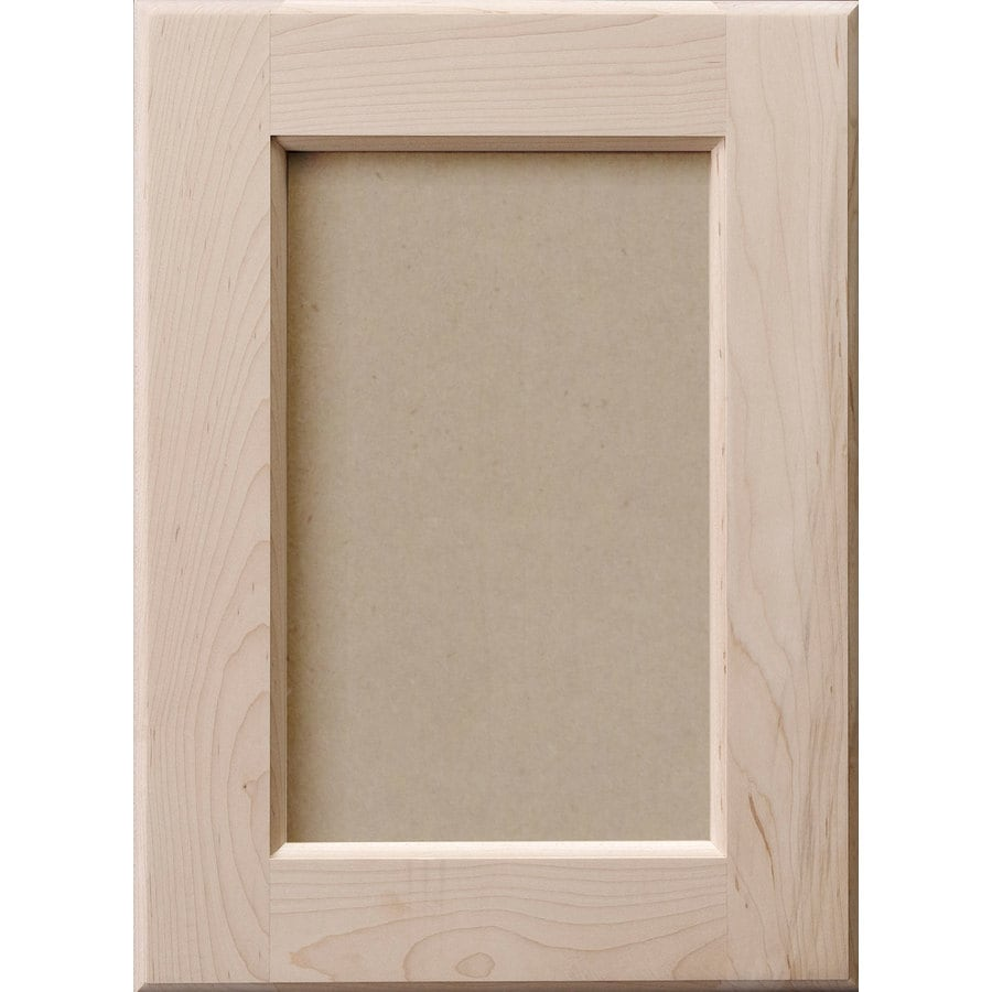 Shop Surfaces 10 In W X 28 In H X D Paint Grade Hard Maple Cabinet Door Front At