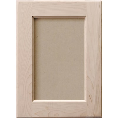Magnificent Surfaces Unfinished Maple Wall Cabinet Door At Lowes Com Interior Design Ideas Tzicisoteloinfo