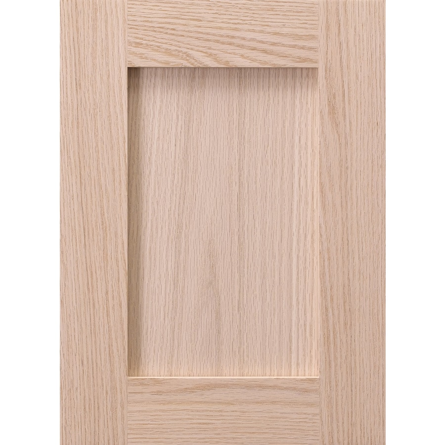 Surfaces 13-in W x 28-in H x 0.75-in D Red Oak Cabinet Door Front