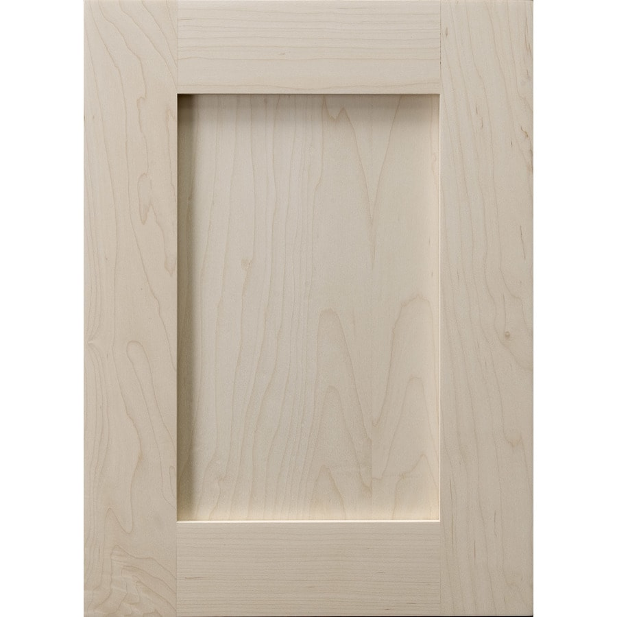 Surfaces 10-in W x 28-in H x 0.75-in D Hard Maple Cabinet Door Front