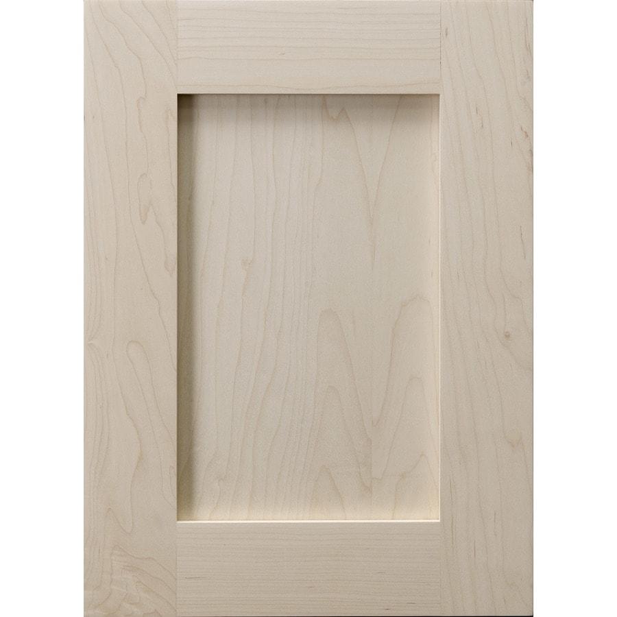 Surfaces 13-in x 28-in Hard Maple Cabinet Door Front