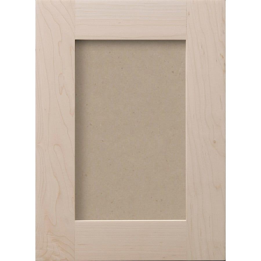 Surfaces 13-in x 28-in Paint Grade Hard Maple Cabinet Door Front