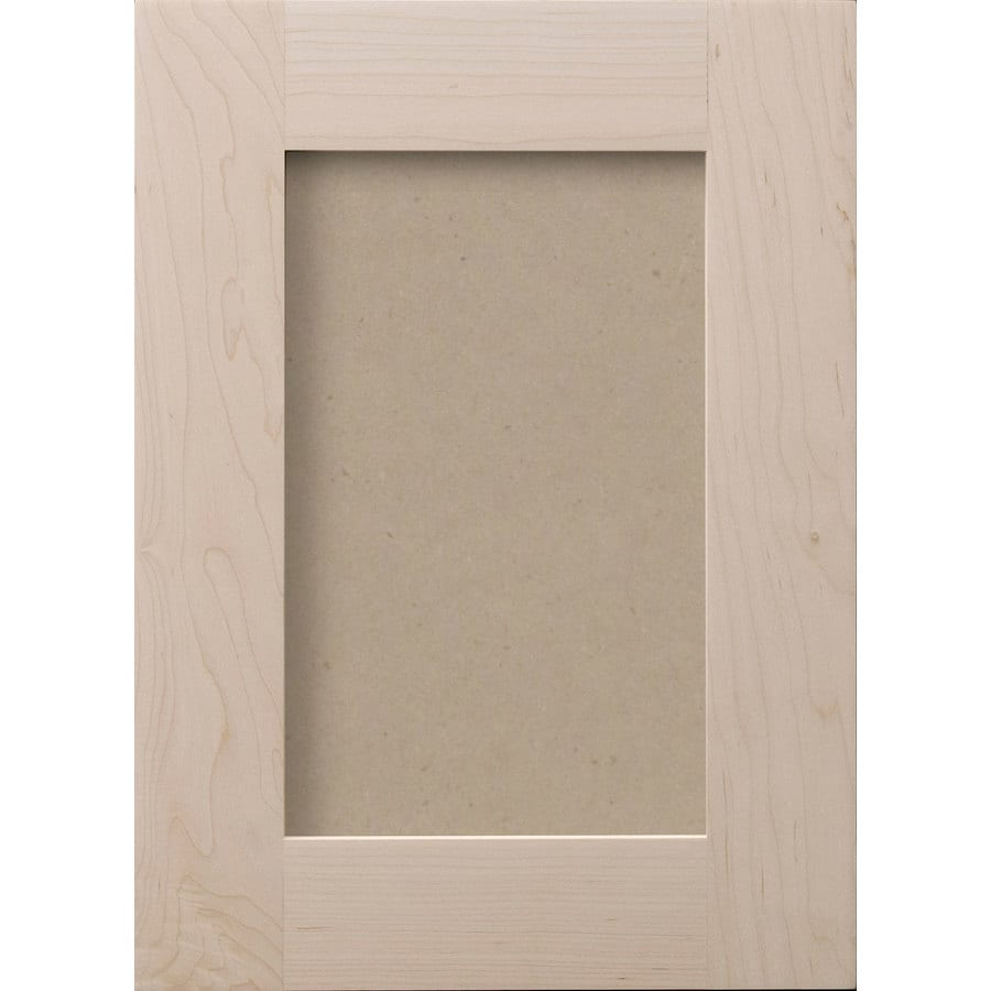 16 in x 28 in paint grade hard maple cabinet door front at lowes com