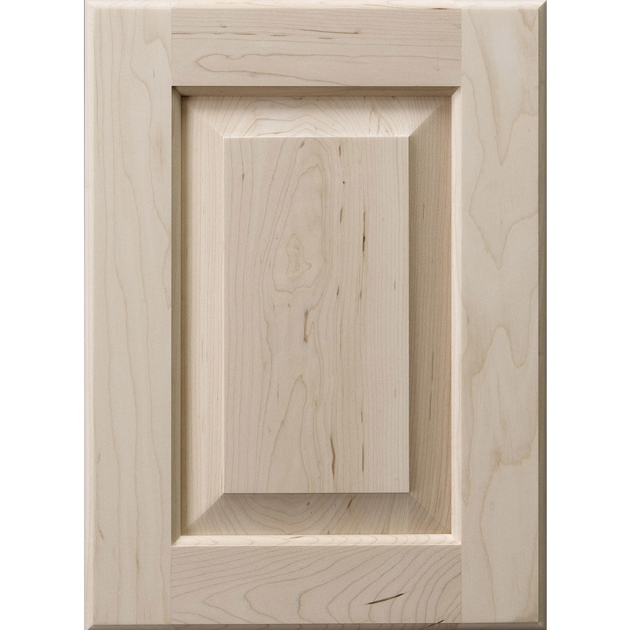 Surfaces 13-in x 28-in Paint Grade Hard Maple Cabinet Door Front