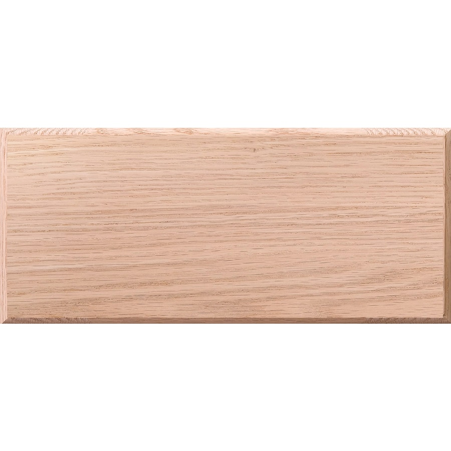 Surfaces 10-in W x 5.75-in H x 0.75-in D Red Oak Cabinet Drawer Front