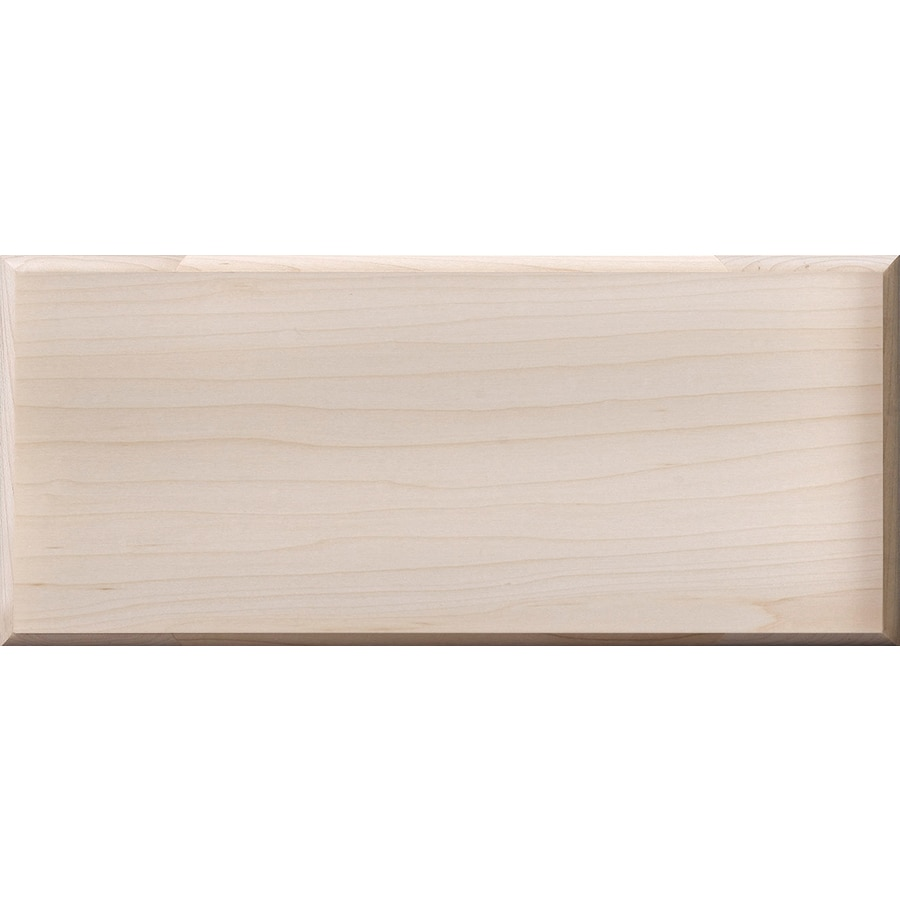 Surfaces 10-in W x 5.75-in H x 0.75-in D Hard Maple Cabinet Drawer Front