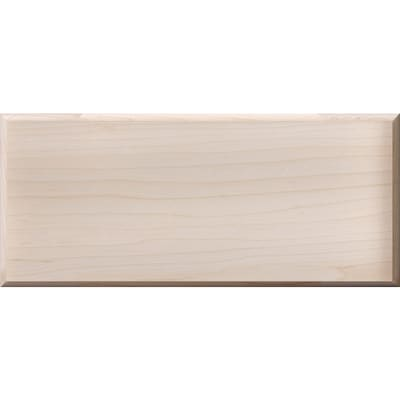 Surfaces Unfinished Maple Base Cabinet Drawer Fronts at ...