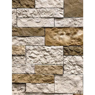 8 Sq Ft Autumn Mountain Primary Wall Faux Stone Veneer