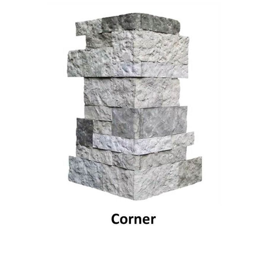 Outside Corner Natural Stone Veneer