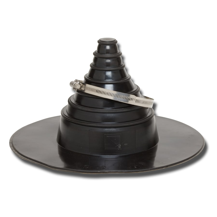 GenTite 6-in x 6-in Butyl Rubber Vent and Pipe Flashing