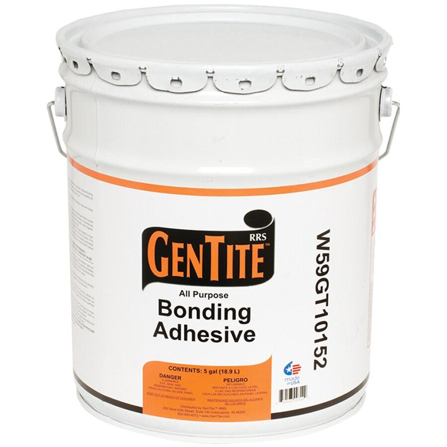 Gentite 192 Fl Oz Roof Adhesive At Lowes Com