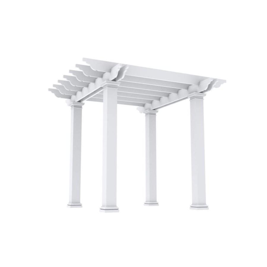 Outdoor Distinctions Harmony 130-in W x 130-in L x 108-in ...
