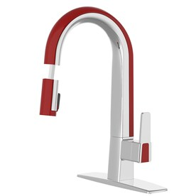 red kitchen faucets at lowes com rh lowes com  red kitchen fixtures