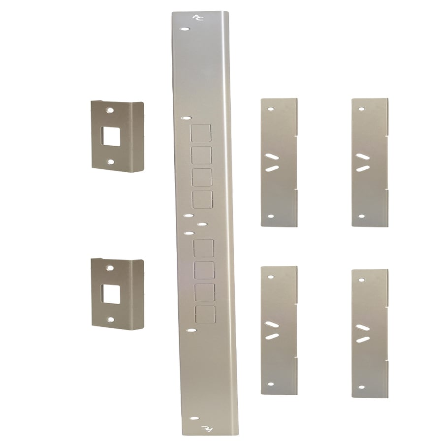 Door Armor Double Door Security Kit (Satin Nickel)