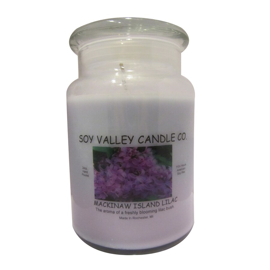 Soy Valley Candle Co. 24-oz Purple Jar Candle